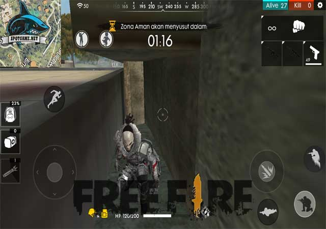 Free Fire Mobile Spotgame